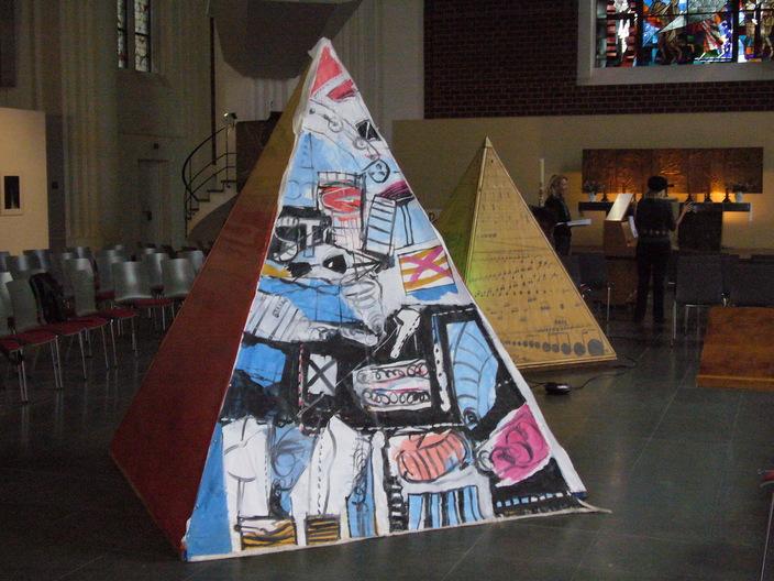 Pyramiden in Berlin Mitte