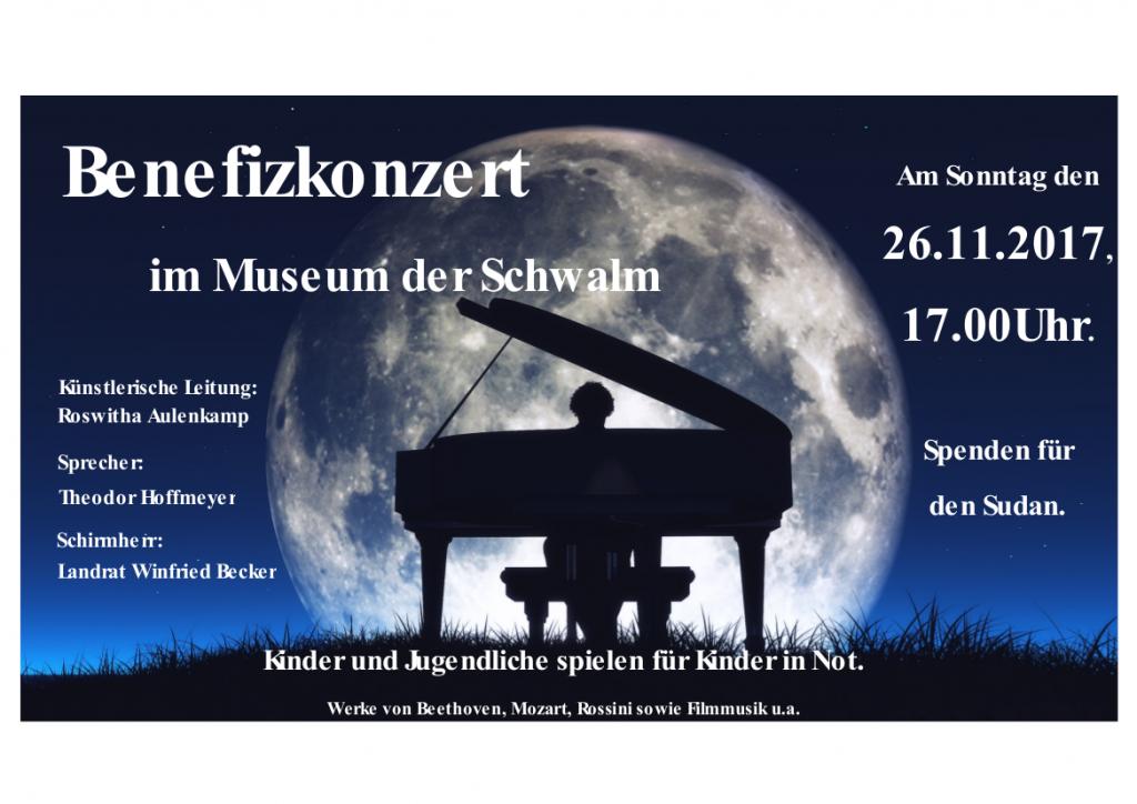 Benefizkonzert im Museum der Schwalm, Roswitha Aulenkamp, Theordor Hoffmeyer